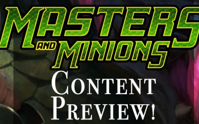 Masters and Minions Tactics Preview!