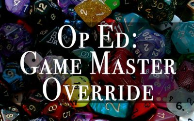Pushing the DM Override Button